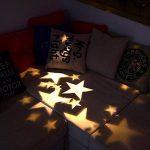 LED Projecteur Lumière II Extérieur/interieur, Dreamix 3W x 4 Mouvement Etanche IP65 étoile éclairage Lampe pour Décoration de Noël Vacances Maison Jardin Wall Barre Birthday de la marque Dreamix image 2 produit