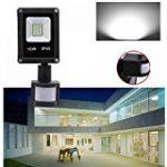 LEDMO® 100W Lumières d'inondation de LED, étanche IP65 pour extérieur Projecteur led , lumière du jour blanc, 2700K, 10000lm, 500W Equivalent halogène, lumières de sécurité,Lumière d'inondation de la marque LEDMO image 14 produit