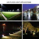 LEDMO® 30w conduit flood lights,ip65 imperméables à l'extérieur Projecteur LED,la lumière blanche, 6000k, 3000lm,contre un halogène équivalent,des lumières de sécurité,déluge de lumière de la marque LEDMO image 2 produit