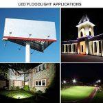 LEDMO® 30w conduit flood lights,ip65 imperméables à l'extérieur Projecteur LED,la lumière blanche, 6000k, 3000lm,contre un halogène équivalent,des lumières de sécurité,déluge de lumière de la marque LEDMO image 6 produit