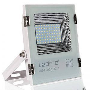 LEDMO® 30w conduit flood lights,ip65 imperméables à l'extérieur Projecteur LED,la lumière blanche, 6000k, 3000lm,contre un halogène équivalent,des lumières de sécurité,déluge de lumière de la marque LEDMO image 0 produit