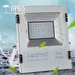 LEDMO® 30w conduit flood lights,ip65 imperméables à l'extérieur Projecteur LED,la lumière blanche, 6000k, 3000lm,contre un halogène équivalent,des lumières de sécurité,déluge de lumière de la marque LEDMO image 1 produit