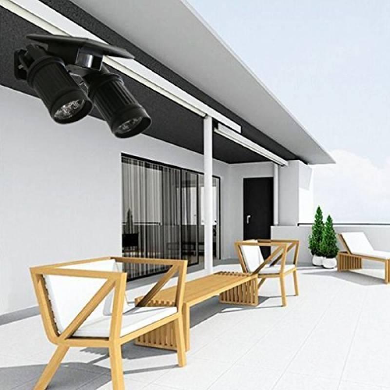 eclairage ext rieur solaire projecteur solaire d tection. Black Bedroom Furniture Sets. Home Design Ideas