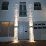 Long Life Lamp Company Applique murale extérieure en inox à double éclairage LED IP65 GU10 8 W de la marque Long Life Lamp Company image 4 produit