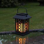 Lot 3 Lanternes Solaires avec Bougie à LED Éclairage Vacillant Ambre Ultra Réaliste (Piles Rechargeables Incluses) Waterproof de la marque Festive Lights image 6 produit