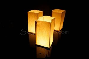 Lot de 6 Lanternes d'Eau Flottantes et 6 Bougies de la marque Sky Lanterns image 0 produit