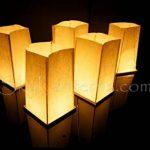 Lot de 6 Lanternes d'Eau Flottantes et 6 Bougies de la marque Sky Lanterns image 5 produit