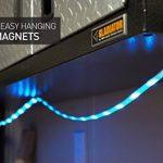 Luminoodle Couleur–1,5m RGB lumières de corde–15Couleur LED avec variateur d'intensité à cordes, télécommande–450lm Lanterne de camping, éclairage de sécurité ou de randonnée... de la marque Power Practical image 3 produit