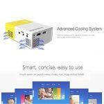 Meer YG300 Portable Mini Pico Projecteur LCD Couleur pour Cadeau Enfants, Film Vidéo TV, jeu de fête, divertissement extérieur avec HDMI/USB/AV Interfaces et Télécommande de la marque meer image 3 produit