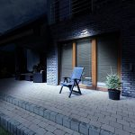 【Nouvelle Conception】Lampe Solaire Extérieur à Electrolyte Amélioré, LED Extérieur Solaire Etanche, 3 Modes Intelligents avec Détecteur de Mouvement et Panneau Solaire 270° Grand Angle Eclairage Extérieur / Luminaire Extérieur / Lampe de Sécurité pour Pat image 6 produit