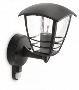 Philips luminaire extérieur applique murale montante avec détection Creek noir de la marque Philips Lighting image 0 produit