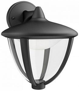 Philips Luminaire Extérieur Lanterne Murale descendante Robin Noire LED Intégrée 1x45W 230V de la marque Philips Lighting image 0 produit