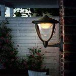 Philips Luminaire Extérieur Lanterne Murale descendante Robin Noire LED Intégrée 1x45W 230V de la marque Philips Lighting image 3 produit