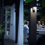 Philips luminaire extérieur LED applique avec détection Cockatoo acier lumière blanc froid de la marque Philips Lighting image 4 produit