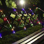 ProGreen 13M Guirlande Lumineuse LED 120 LEDs,RGB Tube Lumineux , IP44 Étanche , 8 Modes d'éclairage, Décoration Pour Noël Jardin Mariage Terrasse Pelouse Pâques,Maison,Fête(Multi-couleur) de la marque ProGreen image 5 produit