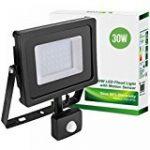 Projecteur à LED avec détecteur de mouvement crépusculaire Lumière blanc froid 10 W 20 W 30 W 50 W de la marque MEDIA WAVE store ® image 11 produit