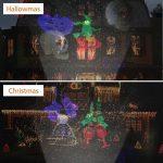 Projecteur LED Extérieur et Intérieur 2 en 1 Fochea IP55 Projecteur d'Images avec 10 Motifs&Télécommande RF Décor Jardin Chambre pour Halloween/Noël/Anniversaire/Saint-Valentin/Mariage/Soirée/Action d de la marque Fochea image 4 produit