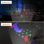 Projecteur LED Extérieur et Intérieur 2 en 1 Fochea IP55 Projecteur d'Images avec 10 Motifs&Télécommande RF Décor Jardin Chambre pour Halloween/Noël/Anniversaire/Saint-Valentin/Mariage/Soirée/Action d de la marque Fochea image 5 produit