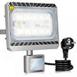 Roleadro Projecteur LED 50W IP66 Imperméable Haute Luminosité SMD3030 LED FloodLight pour Jardin Luminaire 6500K Noir de la marque Roleadro image 12 produit