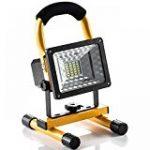 Roleadro Projecteur LED 50W IP66 Imperméable Haute Luminosité SMD3030 LED FloodLight pour Jardin Luminaire 6500K Noir de la marque Roleadro image 19 produit