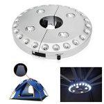 SOAIY® Lampe pour Parasol de 28 LEDs avec 3 Niveaux d'Éclairage Lampe Extérieure pour Parasol / Tente / Arbre / Camping / BBQ de la marque SOAIY image 5 produit