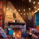 Sunix® Guirlande Guinguette Raccordable avec 25 G40 ampoule Blanc Chaud 7,62m, Décoration intérieur et extérieur pour Patio, Café, Jardin, Décoration de Parti de la marque Sunix image 1 produit
