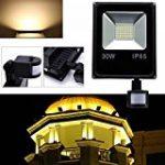Tempo di Saldi® - Projecteur à LED 10W - Lumière blanche froide - Avec détecteur de mouvement crépusculaire - IP65 de la marque Tempo di Saldi® image 11 produit