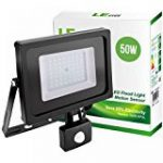 Tempo di Saldi® - Projecteur à LED 10W - Lumière blanche froide - Avec détecteur de mouvement crépusculaire - IP65 de la marque Tempo di Saldi® image 18 produit