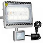 Tempo di Saldi® - Projecteur à LED 10W - Lumière blanche froide - Avec détecteur de mouvement crépusculaire - IP65 de la marque Tempo di Saldi® image 8 produit