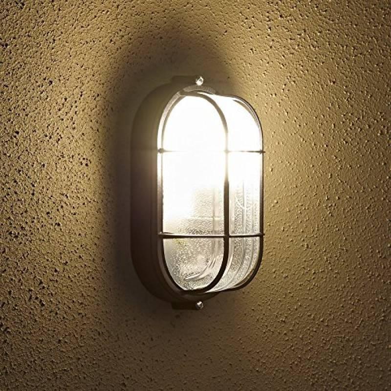 13c77bb795629 Biard ® - Applique Extérieure - LED Hublot Ovale - Éclairage Jardin - 9W  Équivalent 60W - Luminaire Économe en Énergie de la marque Biard