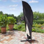 Ultranatura Housse de protection pour parasol à mât excentré, gamme Dome/Bahamas de la marque Ultranatura image 6 produit