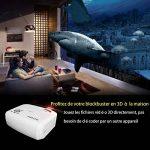 Vidéoprojecteur Portable LED, GooBang Doo ABOX T22 2400 Lumens LCD Projecteur Soutien HD 1080p pour TV, Xbox, Ordinateur Portable, Jeux, iPhone, iPad et Smartphone (Cordon HDMI Offre) de la marque GooBang Doo image 5 produit