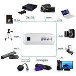 Vidéoprojecteur/Retroprojecteur, LESHP 1080P HD 3200 Lumens Led Mini LCD Projecteur de Cinéma Privé, Projecteur Portable avec Support HDMI / VGA / AV / 2 Port USB PC Ordinateur Xbox TV, idéal pour le de la marque LESHP image 3 produit