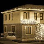 Vikdio 200 LED String Lights | 66Ft avec 8 modes de lumières étoilées | DC 31V 6W transformateur basse tension exploité pour la fête de mariage de Noël, jardin extérieur d'intérieur (blanc, classe énergétique A++) de la marque Vikdio image 1 produit