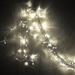 Vikdio 200 LED String Lights | 66Ft avec 8 modes de lumières étoilées | DC 31V 6W transformateur basse tension exploité pour la fête de mariage de Noël, jardin extérieur d'intérieur (blanc, classe énergétique A++) de la marque Vikdio image 4 produit