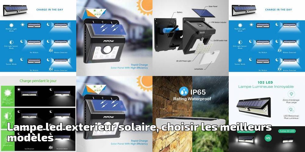 Meilleurs Pour Lampe SolaireChoisir Exterieur Modèles Led Les 2019 eW2IEH9DY